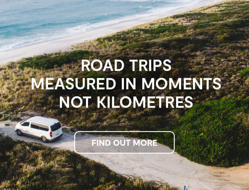 Road trips are measure in moments not kilometres